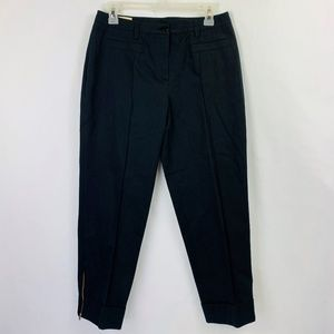 Basler Stretch Ankle Pants Navy Size 10 NWT